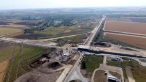 Строительство транспортной развязки на дороге Н31, Полтавская обл.